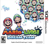 Mario and Luigi Dream Team 3ds free redeem codes download