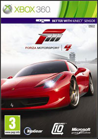 Forza Motorsport 4 xbox360 free redeem code download