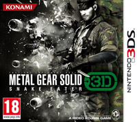 Metal Gear Solid 3D Snake Eater 3ds freee redeem code