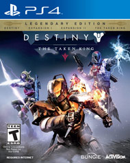 Destiny The Taken King ps4 free redeem codes download