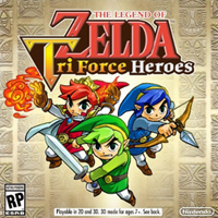 The Legend of Zelda Tri Force Heroes 3ds free redeem codes download