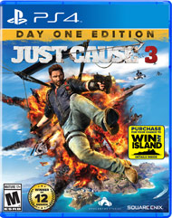 Just Cause 3 ps4 free redeem codes download