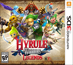 Hyrule Warriors Legends 3ds free redeem codes download