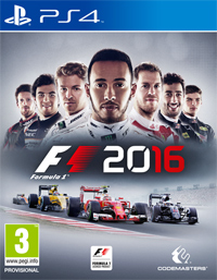 F1 2016 ps4 free redeem codes