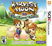 Harvest Moon The Lost Valley 3ds free redeem codes download