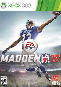 Madden NFL 16 xbox360 free redeem codes download
