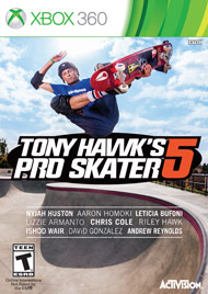 Tony Hawk's Pro Skater 5 xbox360 free redeem codes download