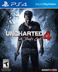 Uncharted 4 A Thiefs End ps4 free codes