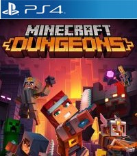 Minecraft Dungeons ps4 free