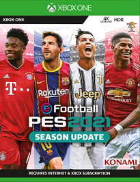 eFootball PES 2021 xbox one download code