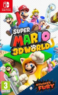Super Mario 3D World Bowser's Fury Switch free download code