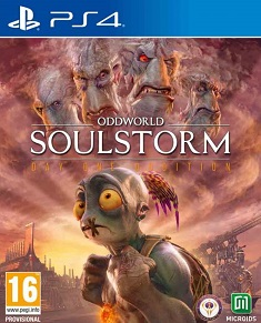 Oddworld Soulstorm ps4 redeem code free download