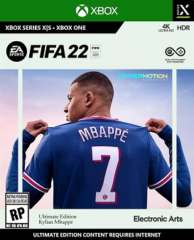 FIFA 22 xbox one redeem code free download